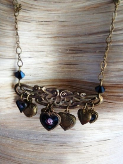 Pididdly Heart Charm Necklace