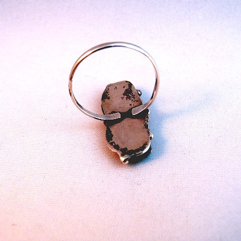 Vintage Native American Pawn Turquoise Ring
