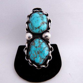 Navajo/Zuni Turquoise Vintage Pawn Ring