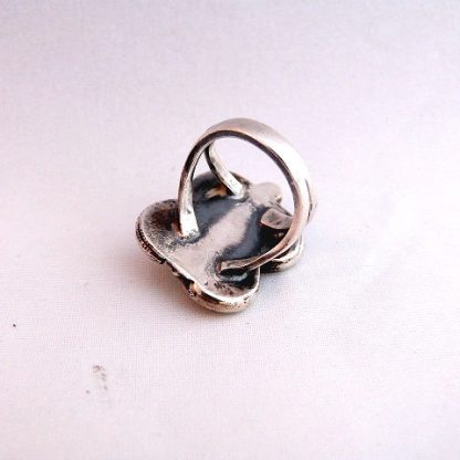 Native American Vintage Pawn Butterfly Ring