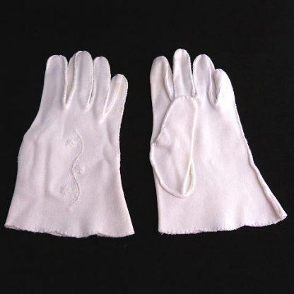 Vintage 1950's wrist length gloves