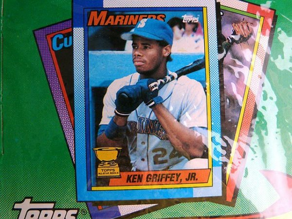 Collectible Topps Baseball Trading Cards: 1990 the Real One
