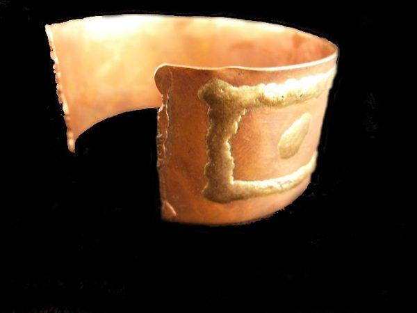 Vintage Copper Cuff Bracelet