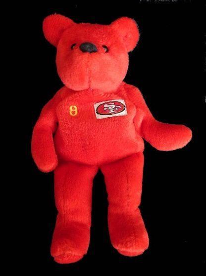 NFL Bear - Number 8 Steve Young