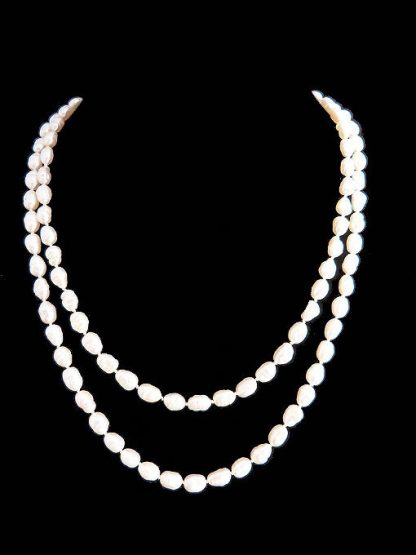 Biwa Freshwater Pearl Necklace