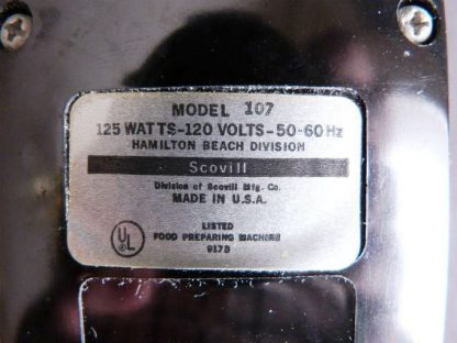 Vintage Hamilton Beach Scovill Mixer