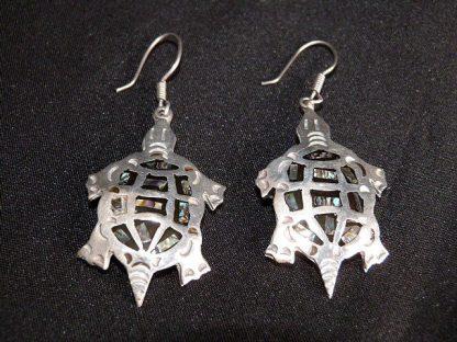 Vintage French Hook Turtle Earrings