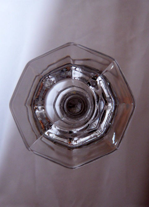 American-Clear Candlestick
