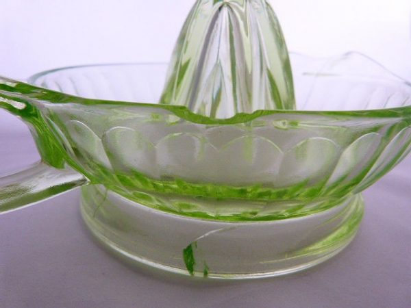 Federal Glass Juicer Reamer