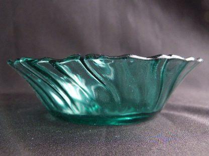 Vintage Ultramarine Cereal Bowl by Jeannette Glass