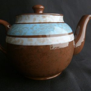 Brown Betty Teapot by Sader
