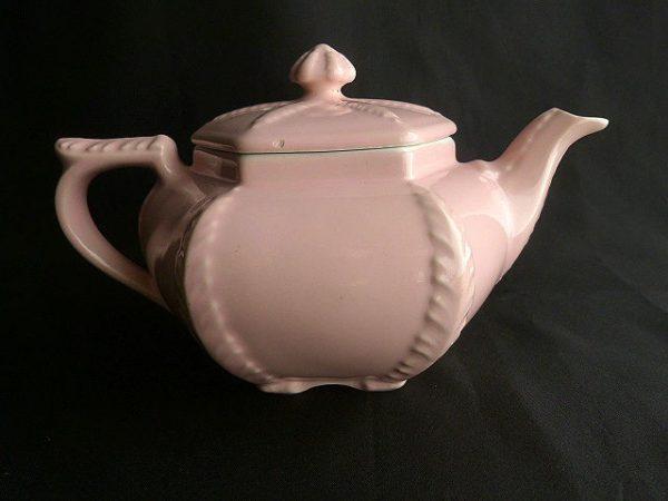 Palms Starfish Teapot by Hall Pottery