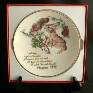 1980 Designers Collection, Christmas Plate