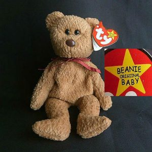 Rare Retired Curly Ty Beanie Baby