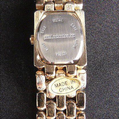Paul Sebastian Women's Gold Tone Bracelet Watch