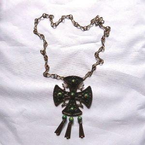 Copper Maltese Cross