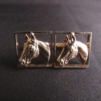 Hickok Horse Head Cufflinks