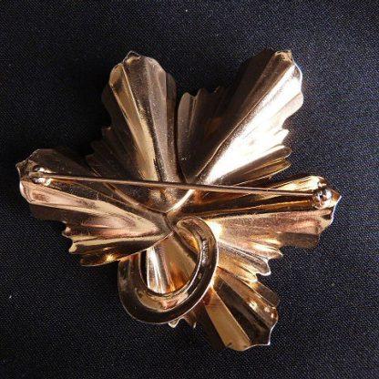 Vintage Napier Leaf Pin