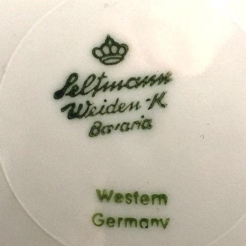 Seltmann Weiden K Bavaria Lunheon Plate