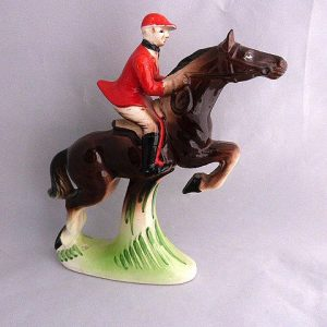 Vintage Artmark Hand Painted Jumping Horse