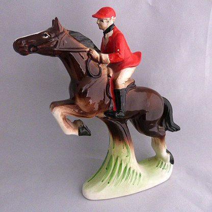 Vintage Artmark Hand Painted Jumping Horse