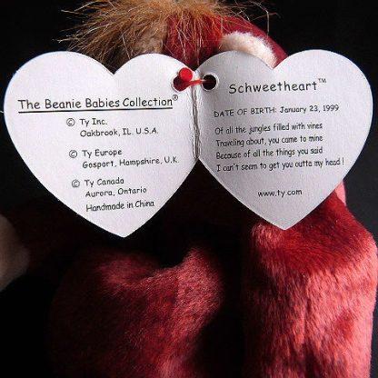 Retired Schweetheart Orangutan Ty Beanie Baby