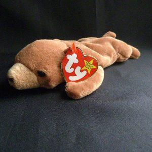 Retired Rare Cubbie Bear Ty Beanie Baby