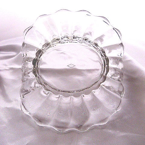 Heisey Crystolite Handled Candy Dish