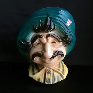 Royal Copley Head Vase Mexican Man