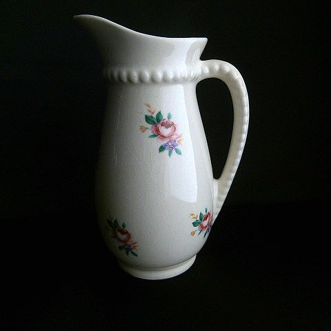 Royal Copley Rosebud Pitcher Vase