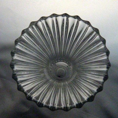 Heisey Glass Small Banded Flute Vase