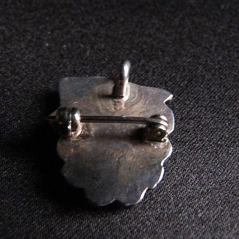 Zuni Thunderbird Sterling Silver Pin/Slide