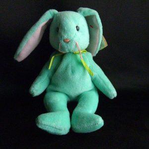Hippity Green Retired Ty Beanie Baby