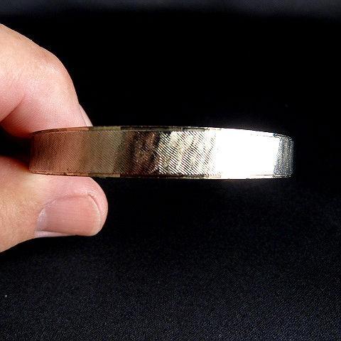 Vintage 1970's Brushed Goldtone Bangle Bracelet