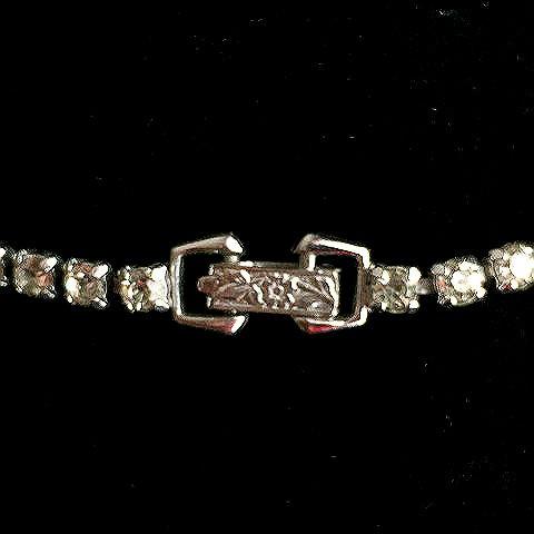 Vintage 1930's-1940's Rhinestone Necklace