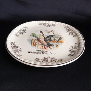 Vintage Trinket/Souvenir Collectors Plate -Souvenir Washington, D.C.