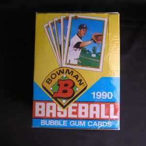 1990 Bowman Baseball Bubble Gum Trading Cards