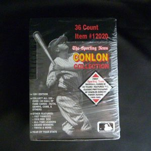 1991 The Sporting News Conlon Collection Baseball Trading Card