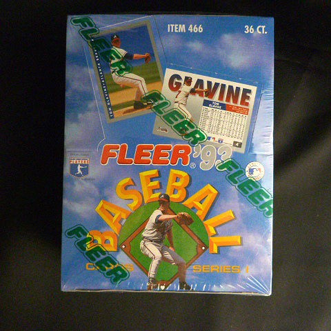 1993 Fleer Baseball Trading Cards Series 1