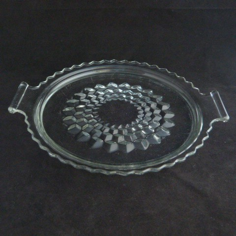 Clear Glass Tray - 1930's