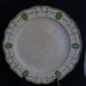 Royal Doulton Green Swag Dinner Plate