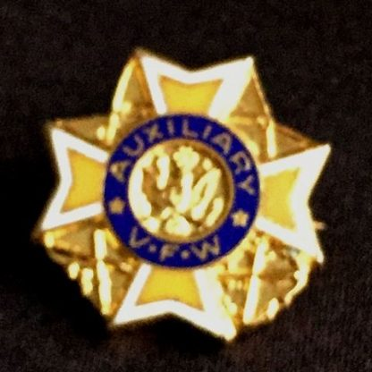 Vintage Auxiliary V.F.W. Pin