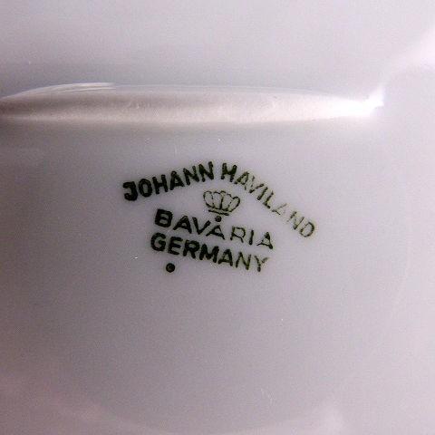 Johann Haviland Covered Butter Dish