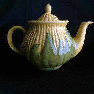 Vintage Corn King Teapot Lidded Number 75