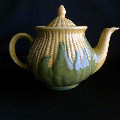Vintage Corn King Teapot Lidded Number 75