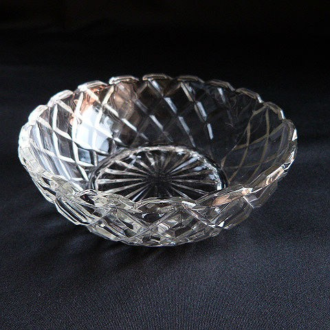 Waterford Waffle Clear Dessert Bowl by Anchor Hocking