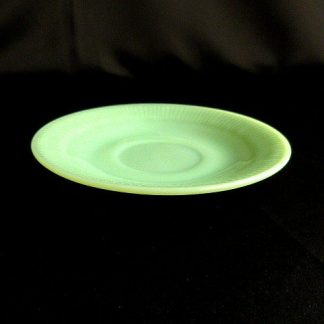 Fire King Jadeite Jane Ray Oven Ware Saucer