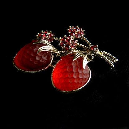 Strawberry Sarah Coventry Pin