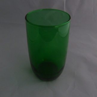 Forest Green Anchor Hocking Tumbler
