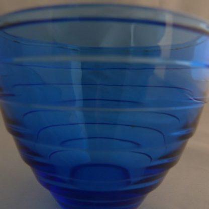 Depression Glassware Blue Cup